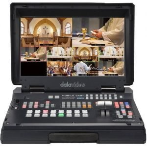 Datavideo HS-1300 6-Channel HD Portable Video Streaming Studio