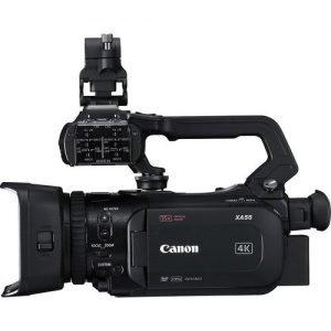 Canon XA55 UHD 4K30 Camcorder with Dual-Pixel Autofocus