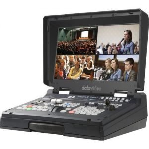 Datavideo 4-Channel HD/SD HDBaseT Portable Video Streaming Studio