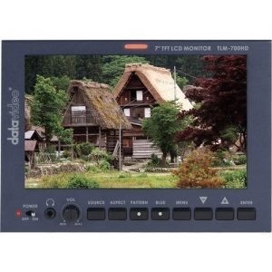 Datavideo TLM-700HD 7″ LCD Monitor with Canon Battery Mount