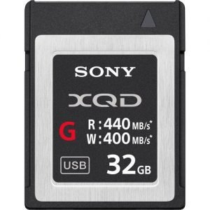 Sony 32GB G Series XQD Memory Card