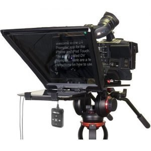 Datavideo TP-650B Prompter and Hard Case Kit for iPad and Android Tablets with Bluetooth Remote