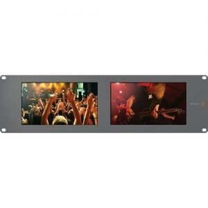 Blackmagic Design SmartView Duo Rackmountable Dual 8″ LCD Monitors