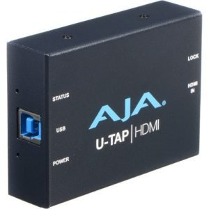 AJA U-TAP-HDMI USB 3.0/3.1 Gen 1 Powered HDMI Capture Device