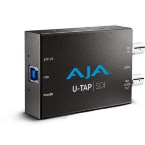 AJA U-TAP-SDI USB 3.1 Gen 1 Powered SDI Capture Device