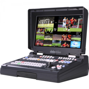Datavideo HS-2850-12 12-Input HD-SDI And HDMI Hand Carried Mobile Studio With Built-In 17.3″LCD Monitor