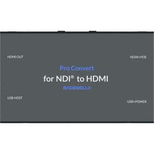 Magewell Pro Convert NDI to HDMI Decoder