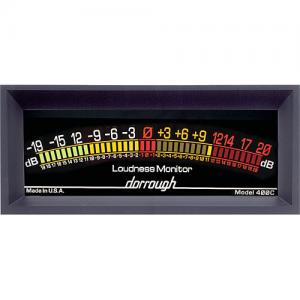Dorrough 400-C Jumbo Analog Loudness Meter +20dB