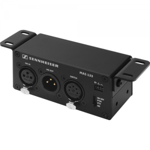 Sennheiser MAS 133 Inline Logic Box with XLR Mic In and Out with Switch