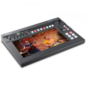 Datavideo 4K Multi-Camera Processing Switcher With Built-In Streaming and Recording