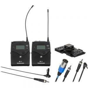Sennheiser EW 112P G4 A1 Camera-Mount Wireless Omni Lavalier Microphone System