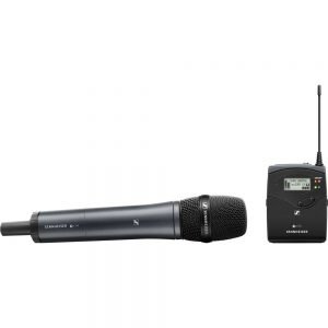 Sennheiser EW 135P G4 A1 Camera-Mount Wireless Cardioid Handheld Microphone System