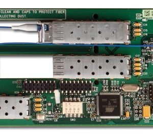 ROSS FET-6945-40A-R2	Triple Link Ethernet Fiber Transceiver w/ Rear Module