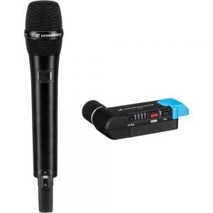 Sennheiser AVX-835 SET-4-US Digital Camera-Mount Wireless Cardioid Handheld Microphone System (1.9 GHz)