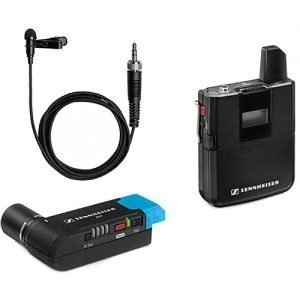 Sennheiser AVX-ME2 SET-4-US Digital Camera-Mount Wireless Omni Lavalier Microphone System (1.9 GHz)