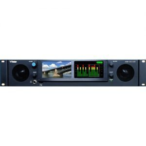 Wohler IAM-12G-SDI Multichannel Audio and 12G/4K Video Monitoring & Metering of IP and Baseband Signals (2 RU)