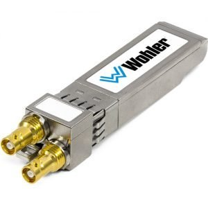 WOHLER SFP-SDI-OUTPUT – 3G-SDI Transceiver, HD-BNC Connectors SFP Module with Software Activation Key