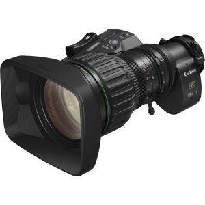 Canon CJ18EX7.6B IRSE S 2/3″ 4K UHD IRSE S Portable Lens