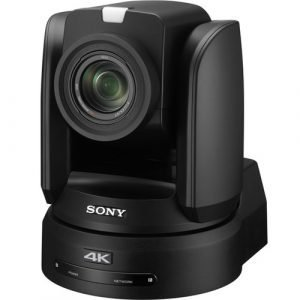 Sony BRC-X1000 4K PTZ Camera with 1″ CMOS Sensor and PoE+ (Black)
