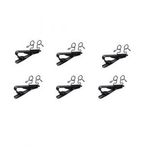 Sony SAD-W77B Set of 6 Double Horizontal Microphone Clip for ECM77B
