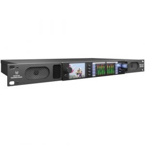 Wohler AMP1-16-3G Rackmount 16-Channel Audio Monitor with Video