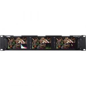 Wohler RM-2350W-3G – Triple 5.0″ 3G/HD/SD-SDI Composite HDMI Video Monior