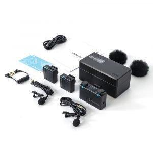 Hollyland LARK 150 Wireless Dual Microphone System (2.4 GHz)