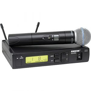 Shure ULXS24/BETA58 Wireless Handheld Microphone System with Beta 58A Capsule (G3: 470 to 506 MHz)