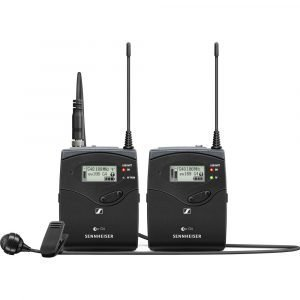 Sennheiser EW 122P G4 Camera-Mount Wireless Cardioid Lavalier Microphone System (A1: 470 to 516 MHz)