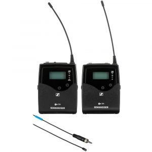 Sennheiser EW 512P G4 Camera-Mount Wireless Omni Lavalier Microphone System (AW+: 470 to 558 MHz)
