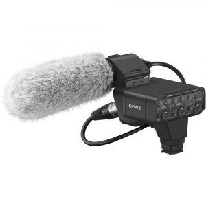Sony XLR-K3M Dual-Channel Digital XLR Audio Adapter Kit with Shotgun