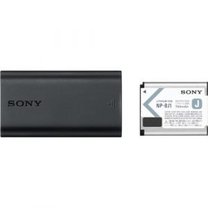 Sony NP-BJ1 Battery Kit with USB Travel Charger for Sony DSC-RX0M2, DSC-RX100M7, DSC-RX100M7G