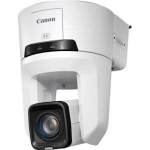 Canon CR-N500 Professional 4K NDI PTZ Camera with 15x Zoom (Titanium White)
