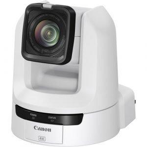 Canon CR-N300 4K NDI PTZ Camera with 20x Zoom (Titanium White)