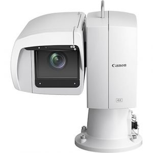 Canon CR-X500 Outdoor 4K PTZ Camera with 15x Optical Zoom (White)