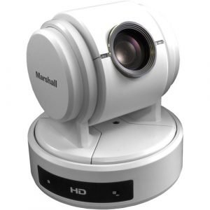 Marshall Electronics CV610-U3-V2 Compact PTZ USB/HDMI Camera (White)