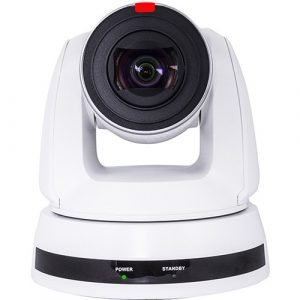 Marshall Electronics CV630-IPW Broadcast Pro AV UHD 4K IP PTZ Camera (White)
