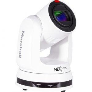 Marshall Electronics CV730-NDI UHD 4K Broadcast PTZ Camera with NDI|HX (White)